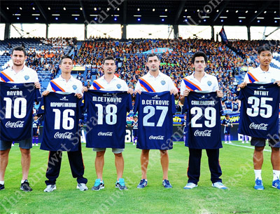 Buriram's new signings