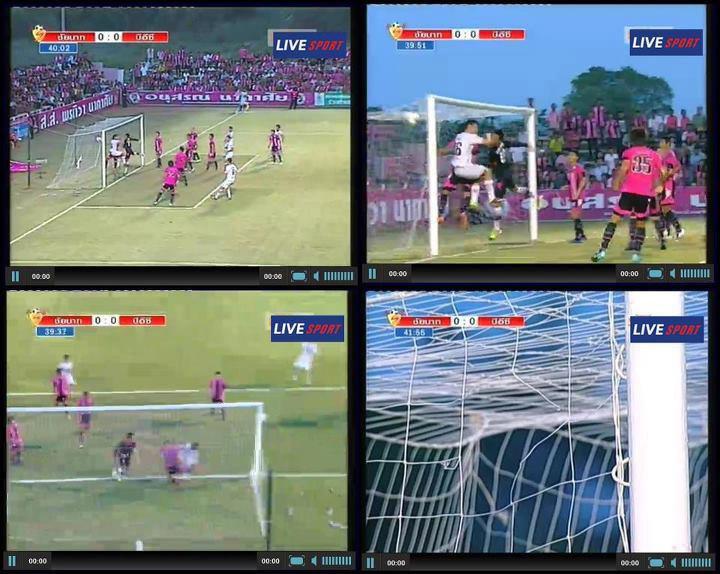 Thai Premier League:    a hole in the net - Thai Football