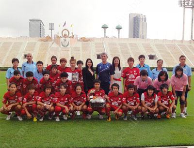 Thai women's national team 2012