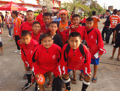 Thai Football kids