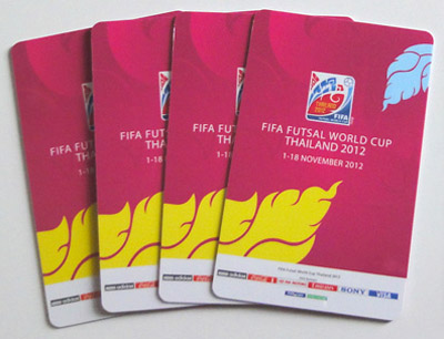 Tickets Futsal-WM 2012n